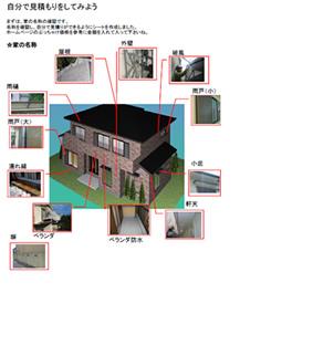 家の塗り替え 塗装 を自分で見積もりしてみる